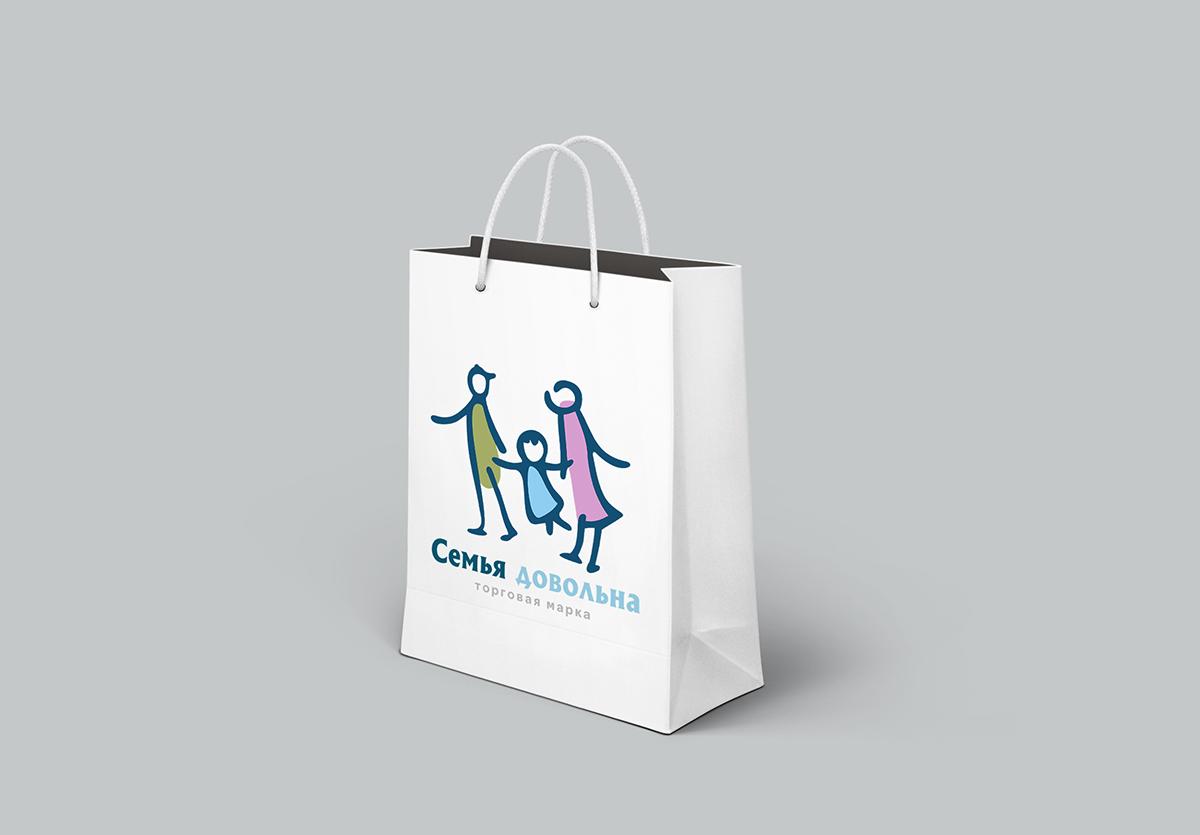 """Разработайте логотип для торговой марки """"Семья довольна"""" фото f_708596a4f11926b7.jpg"""