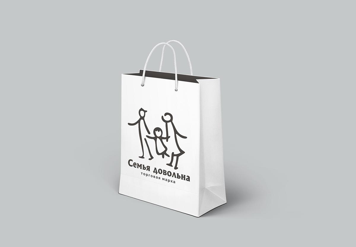 """Разработайте логотип для торговой марки """"Семья довольна"""" фото f_925596a4f13e2ada.jpg"""