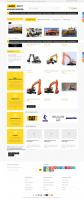 АзияФорт интернет каталог для аренды спецтехники на базе Опенкарт