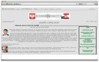 Старый сайт 2006г на польском языке, более 2000 стр. Контент и главный банер мой