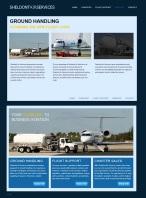 Сайт американской авиакомпании Sheldont Air (Wordpress)