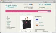 Магазин брендовых сумок на Опенкарт, натяжка верстки , программирование