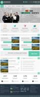 Cайт креативного агенства на Wordpress