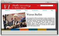 Персональная страница биржевика на английском языке