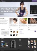 Сайт салона красоты на Wordpress