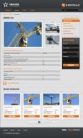 Каталог для фирмы, представляющей строительное оборудование, Опенкарт