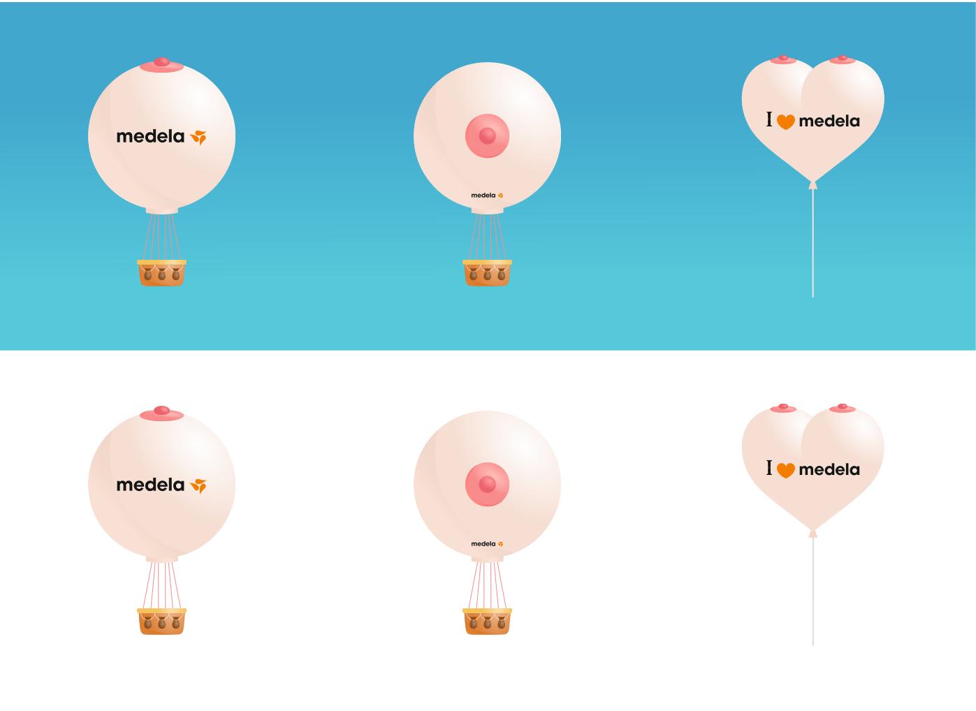 Воздушные шары medela