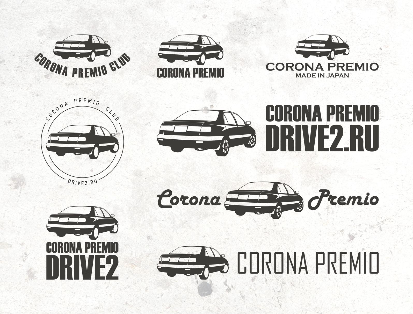 Стикеры Toyota Corona Premio