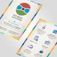 Листовка - Yes Boss