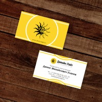 Визитная карточка - Дивайн-лайт