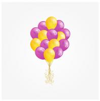 """Шарики в векторе для интернет магазина """"Розовые мечты"""""""