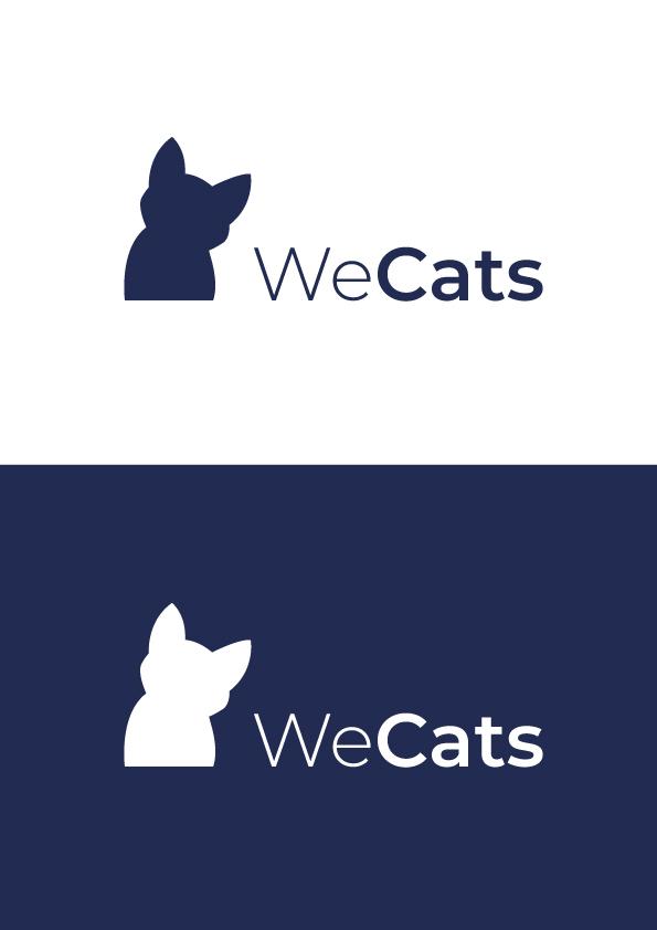 Создание логотипа WeCats фото f_6825f1ddefe139de.jpg