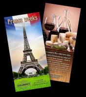 """Листовка (еврофлаер) """"Французские недели"""" для Gourmet"""