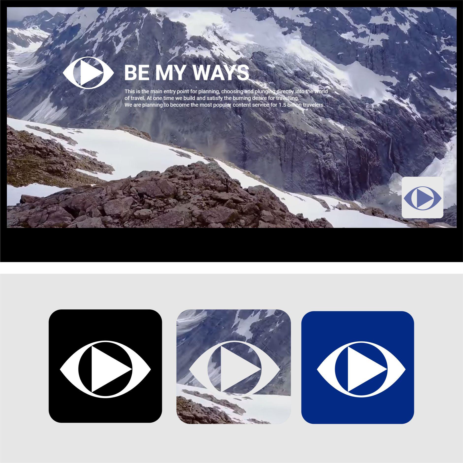 Разработка логотипа и иконки для Travel Video Platform фото f_0735c3c60725cdc6.jpg