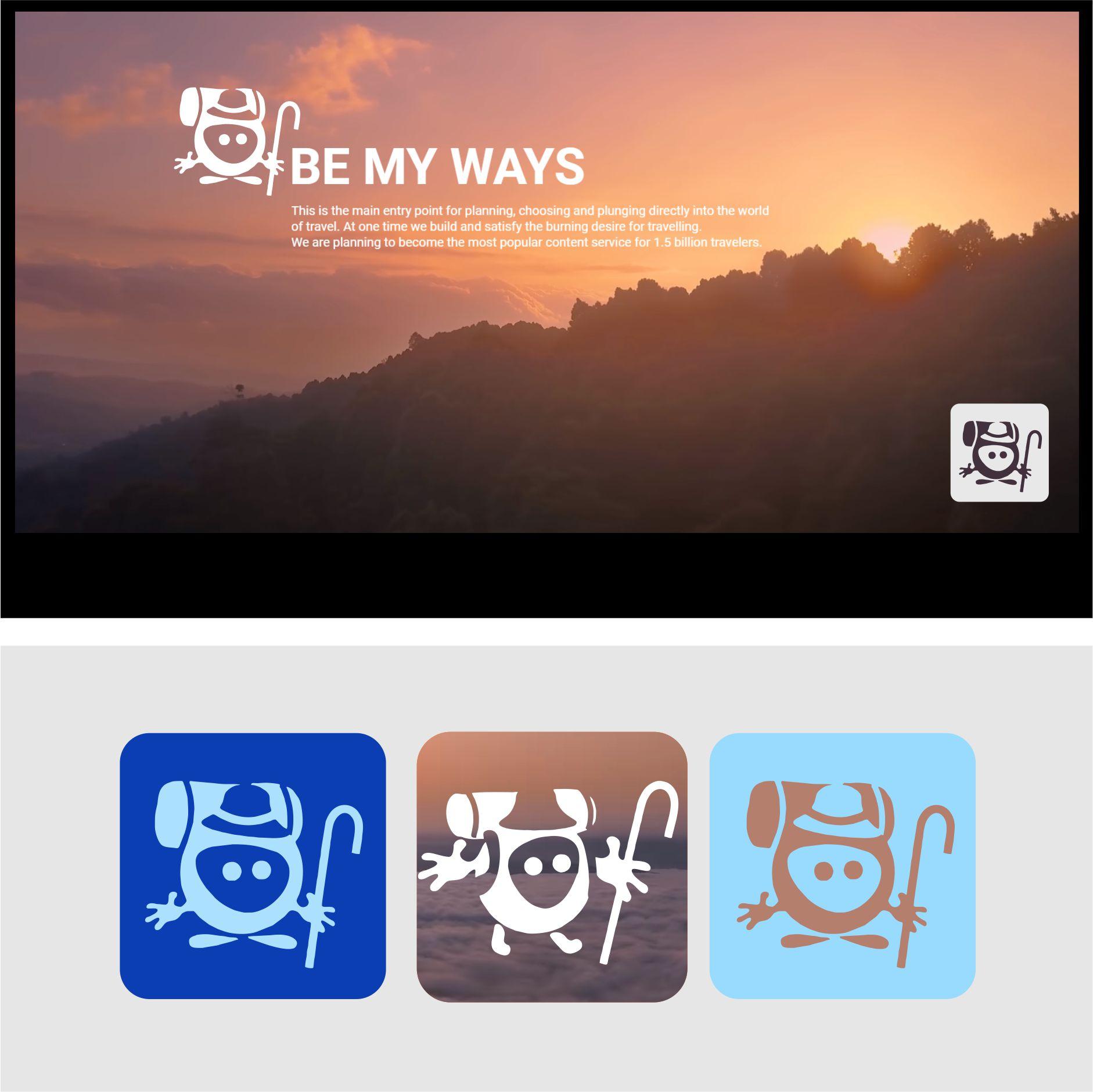 Разработка логотипа и иконки для Travel Video Platform фото f_5635c3c601cb745a.jpg