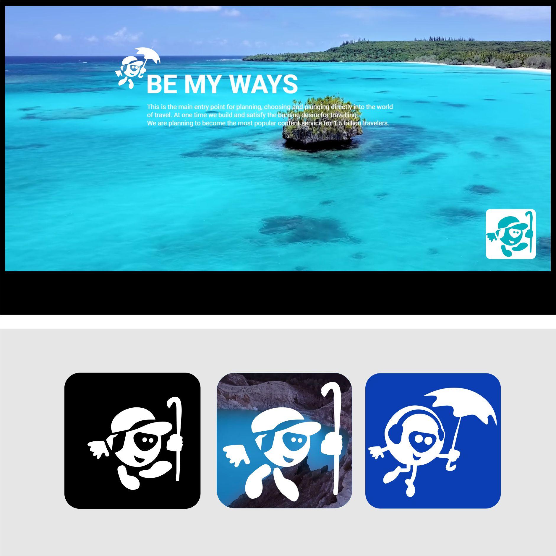 Разработка логотипа и иконки для Travel Video Platform фото f_9285c3c6083274ca.jpg