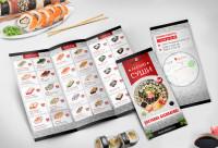 Дизайн меню ,,суши,,