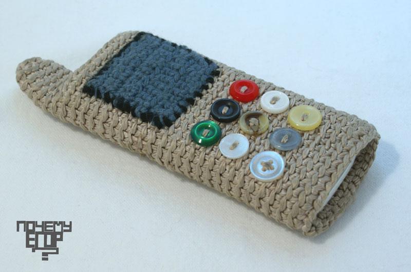 сумочки для телефонов связанные крючком.
