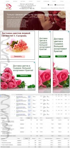 Google Ads | Сызрань | Доставка цветов | Интернет-магазин