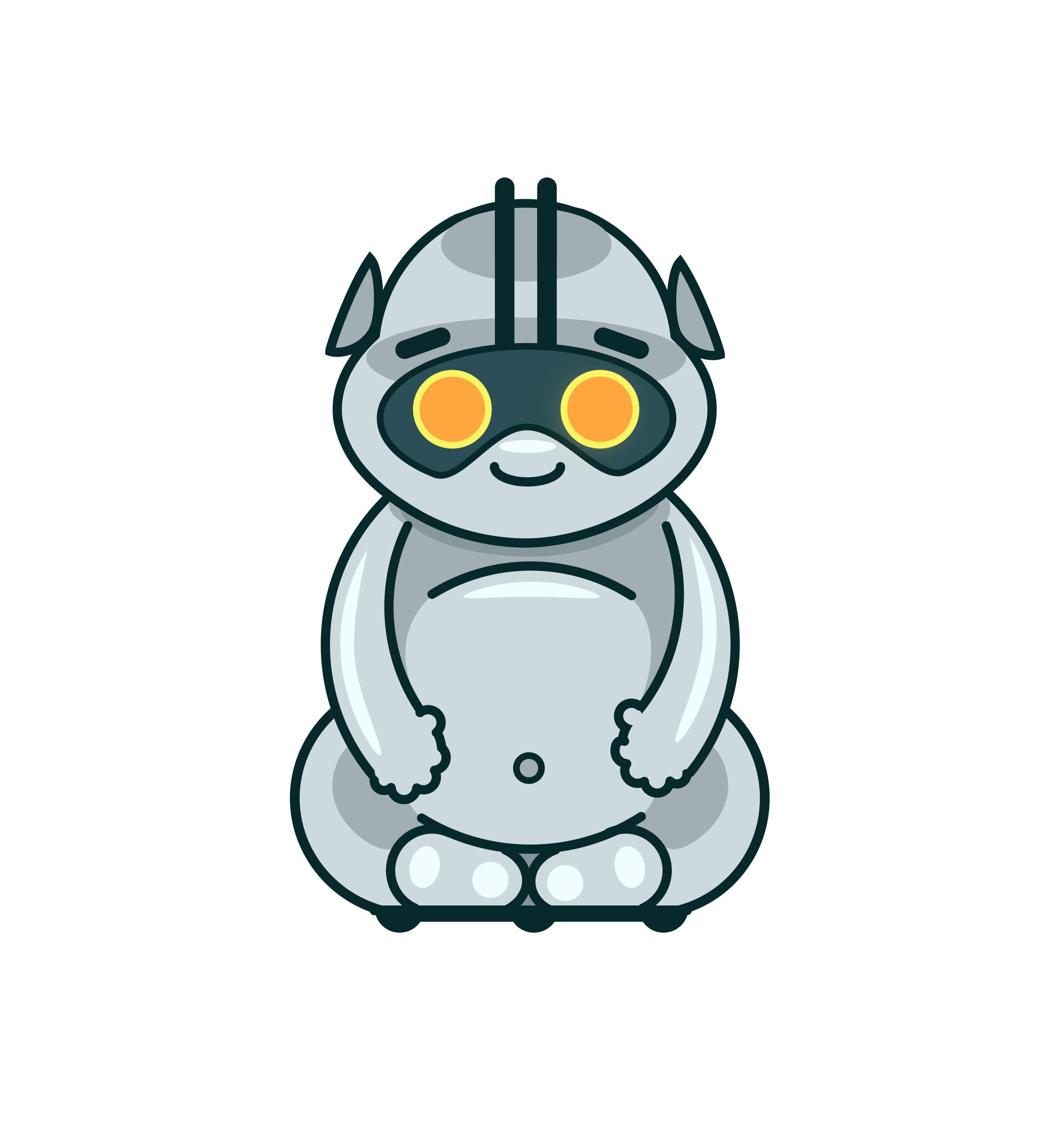 Конкурс на разработку дизайна детского домашнего робота. фото f_1625a7b60a79c77a.jpg