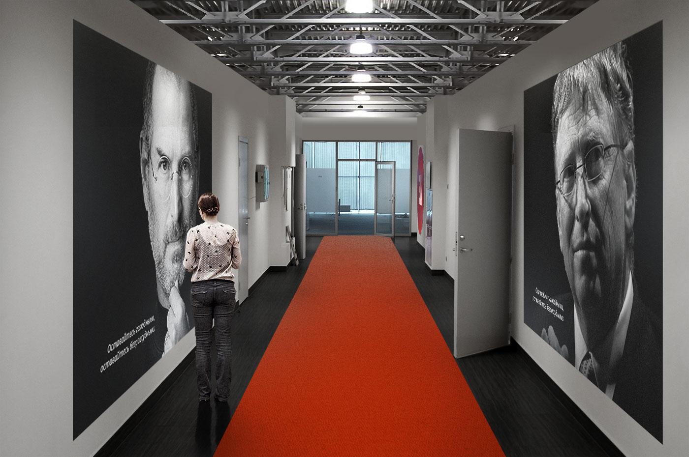 Оформление офиса BIA-Technologies