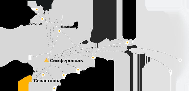 Иллюстрация Деловые Линии «Карта»