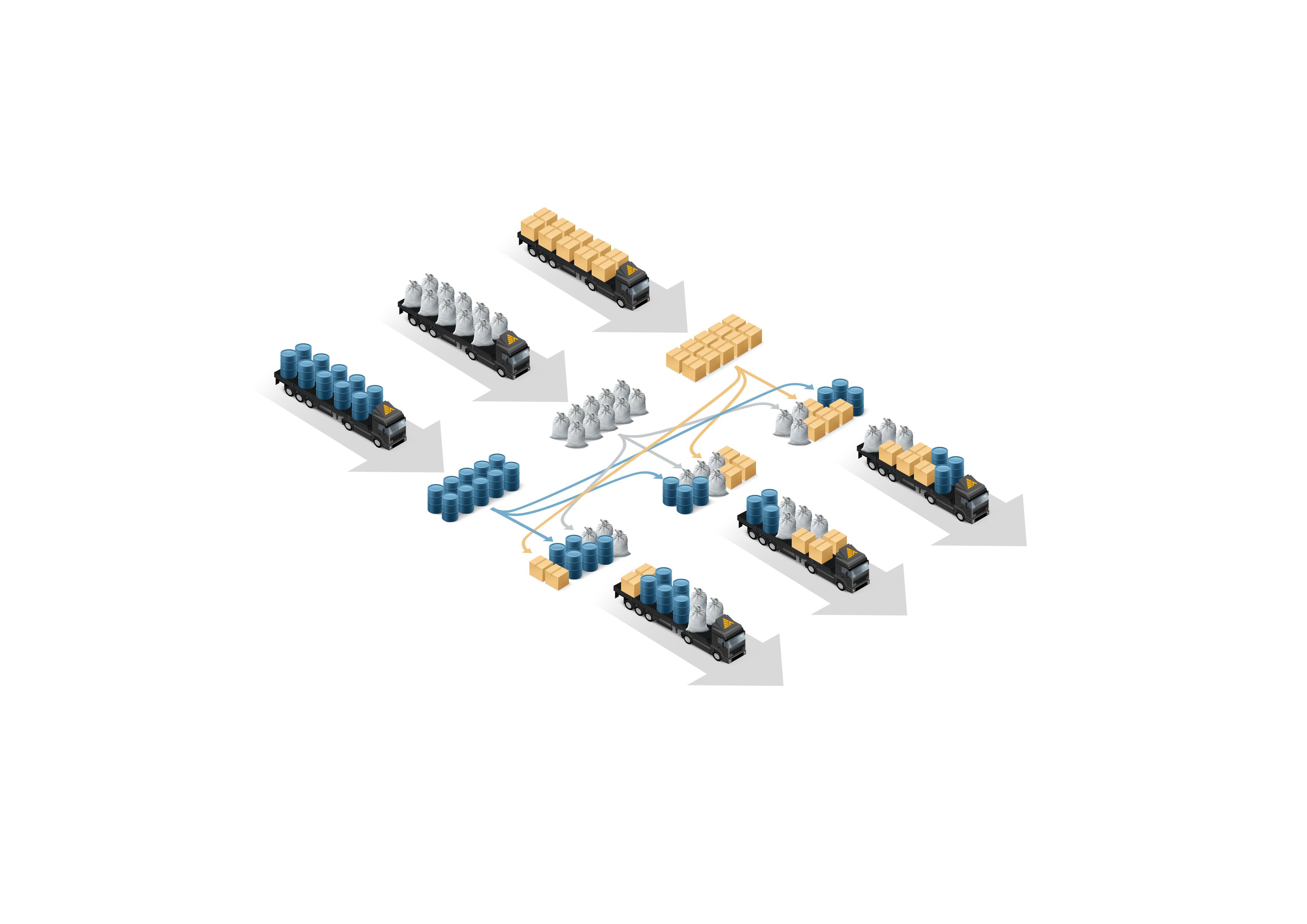 Иллюстрация Деловые Линии «Схема»