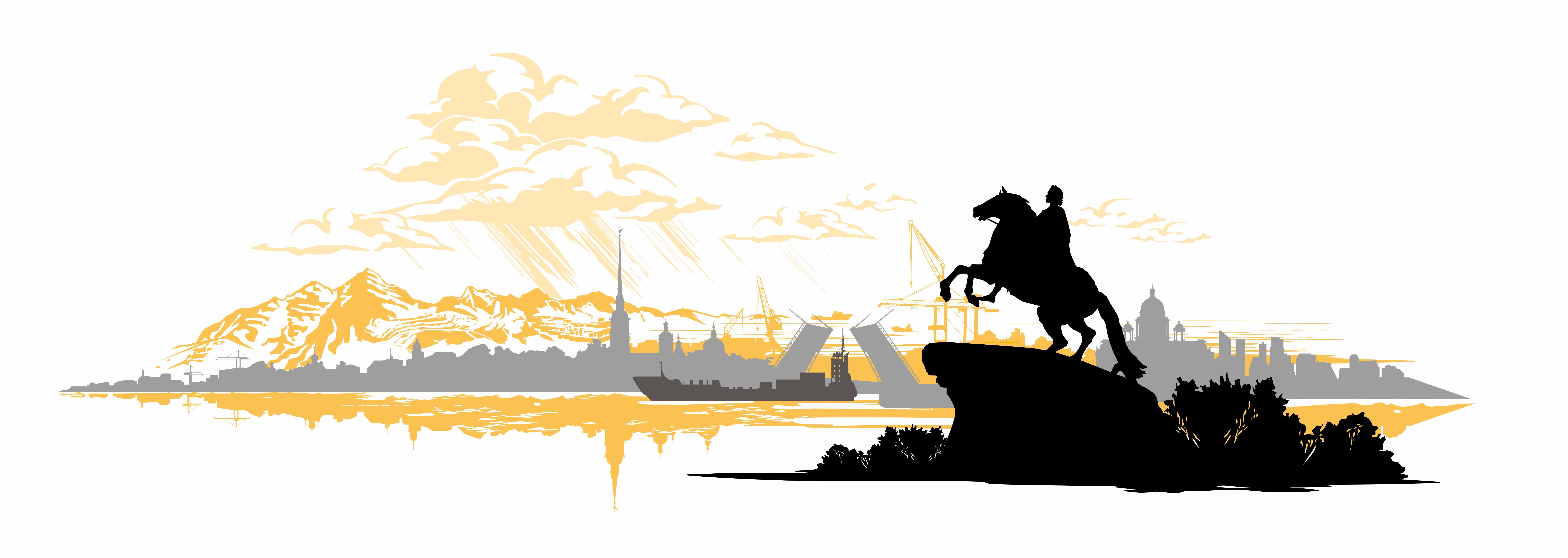 Иллюстрация Деловые Линии «Северо-Западный федеральный округ»