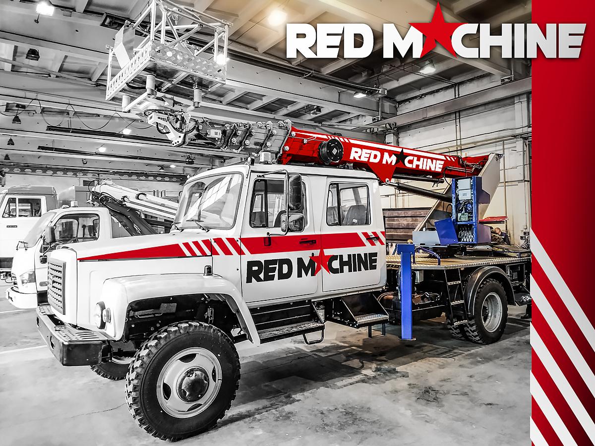 Оформление автогидроподъёмника,  бренд - RED MACHINE фото f_3065e142a872c2ad.jpg