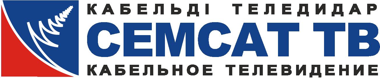 """Логотип кабельного телевидения """"Семсат"""""""