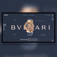 Landing page - BVLGARY