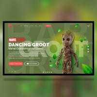 Landing Page - Groot