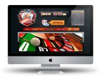 Дизайн сайта для Казино SlotClub