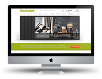 Дизайн интернет магазина по типу IKEa