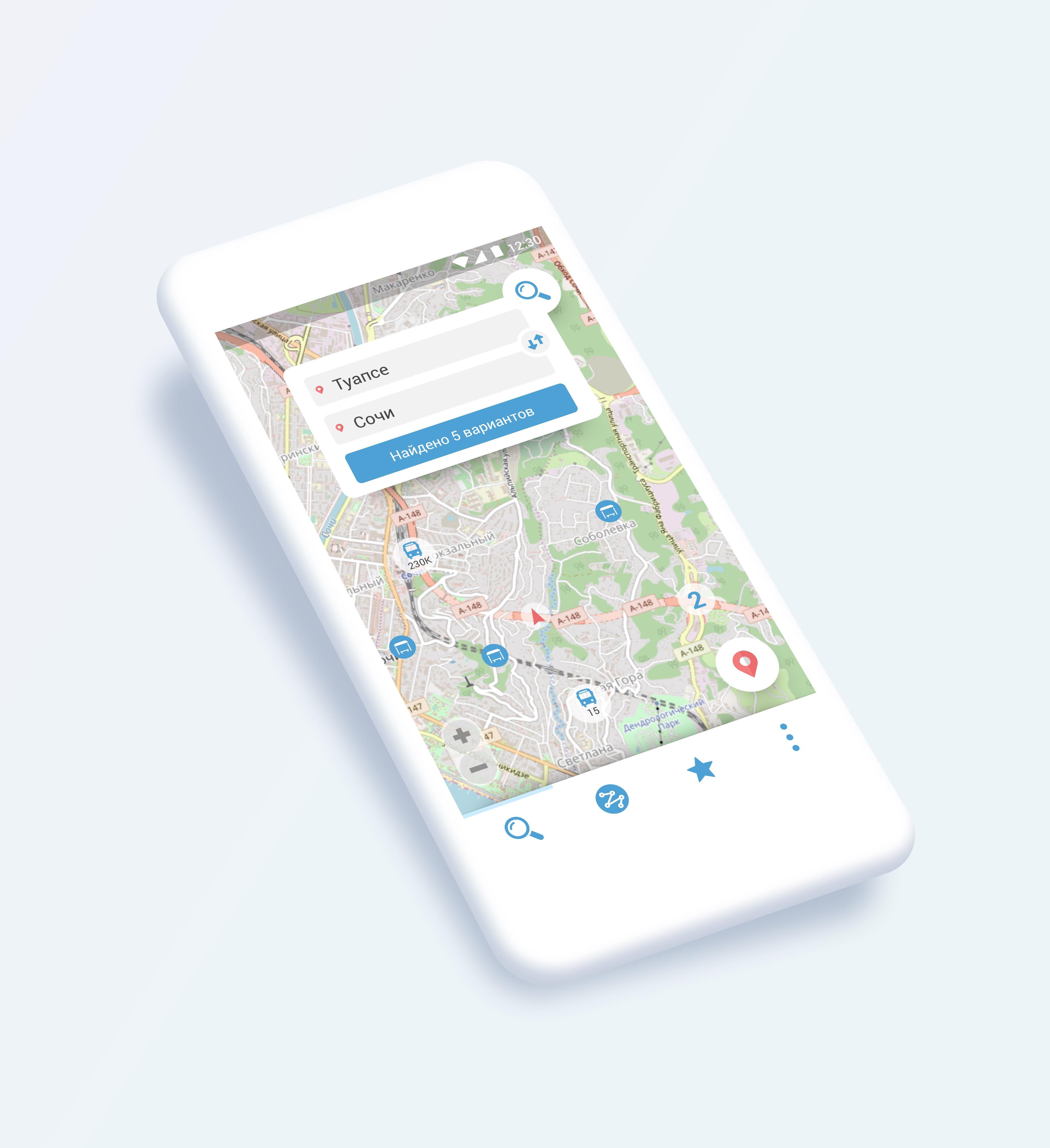 Дизайн-концепция мобильного приложения (3 экрана) фото f_8645b6cf9de9b621.jpg