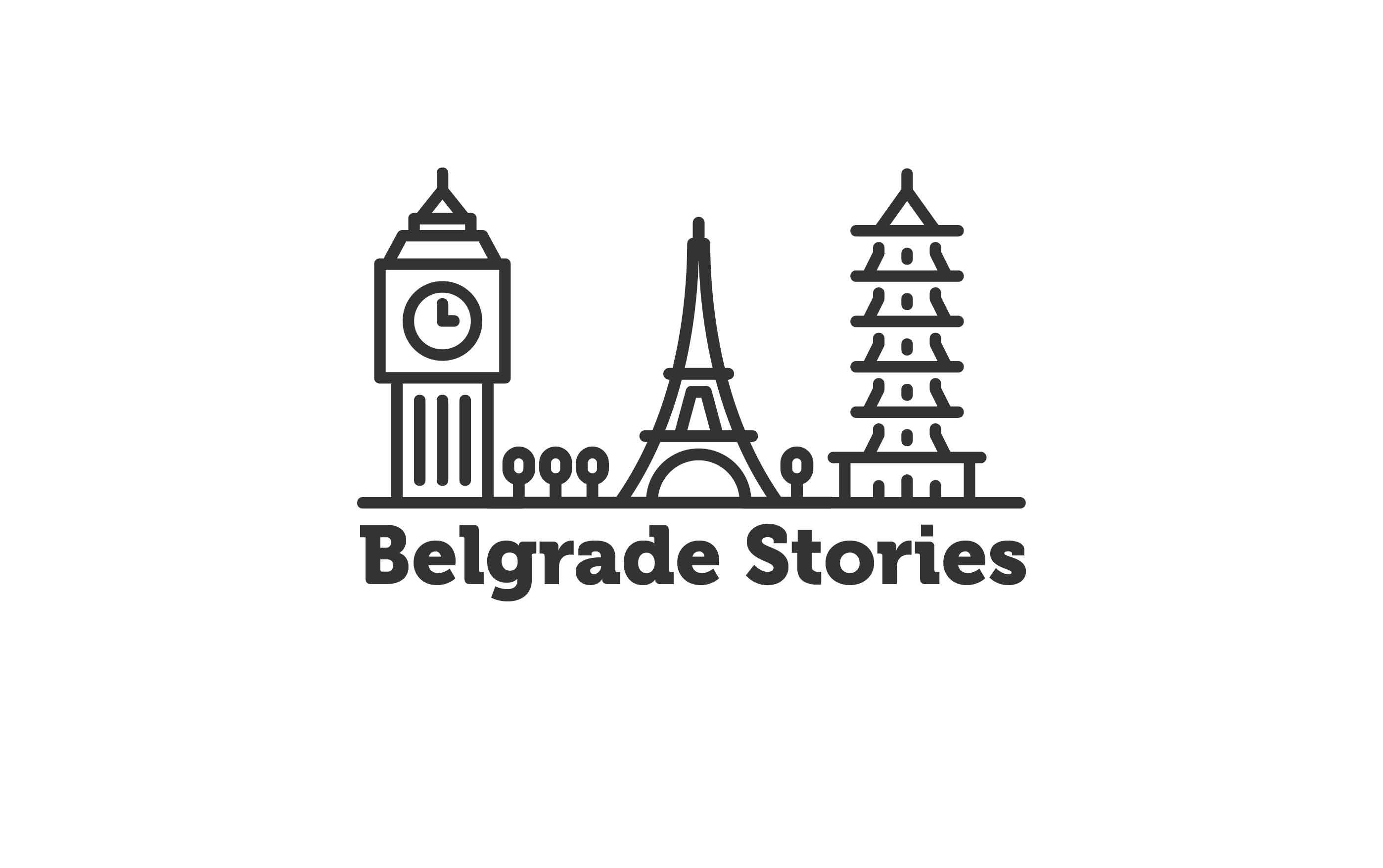 Логотип для агентства городских туров в Белграде фото f_550589b1fd1c1239.jpg