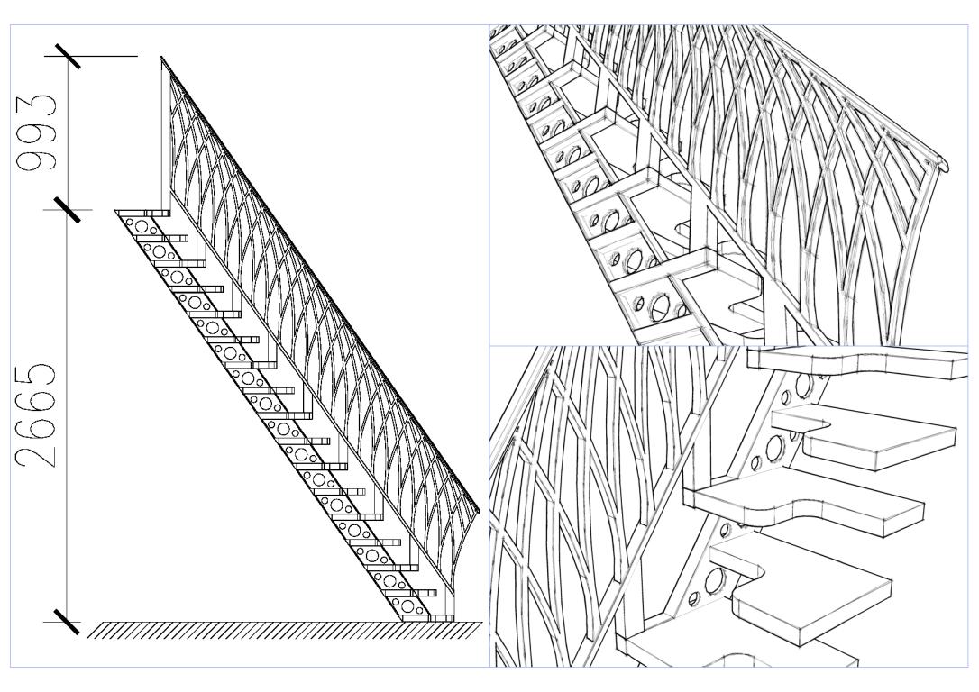 Лестница вариант1