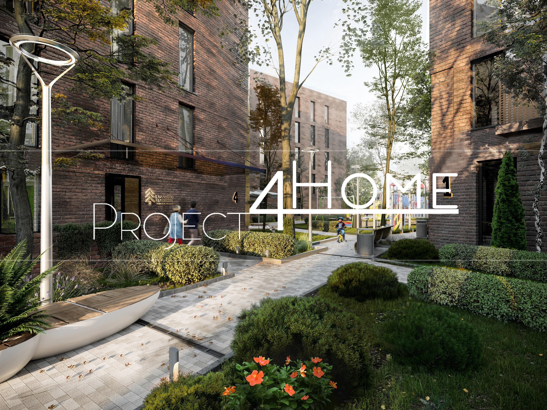 Проект инновационного жилого комплекса бизнес класса Суханово Spa Deluxe (экстерьер).