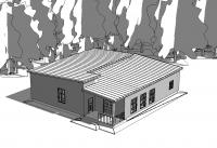 Жилой одноэтажный дом АР