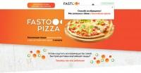 """Макет сайта """"Доставка пиццы"""" с продающим текстом и дизайном. Конверсия 6%"""