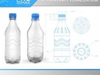 Разработка 3d модели бутылки