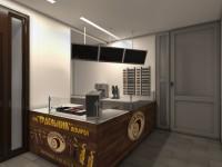 Фотореалистичная визуализация торгового помещения