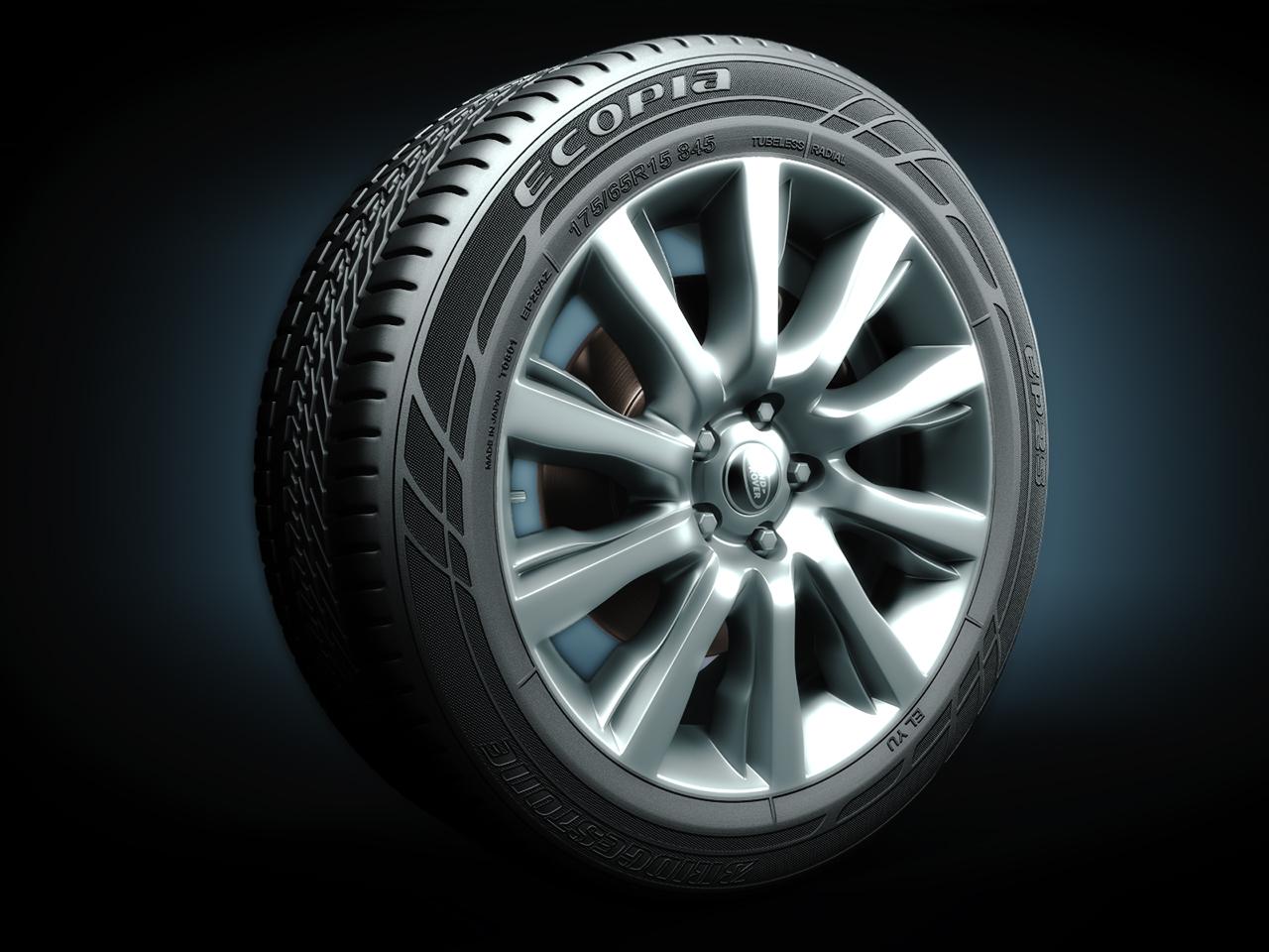 Колесо от Range Rover 2013