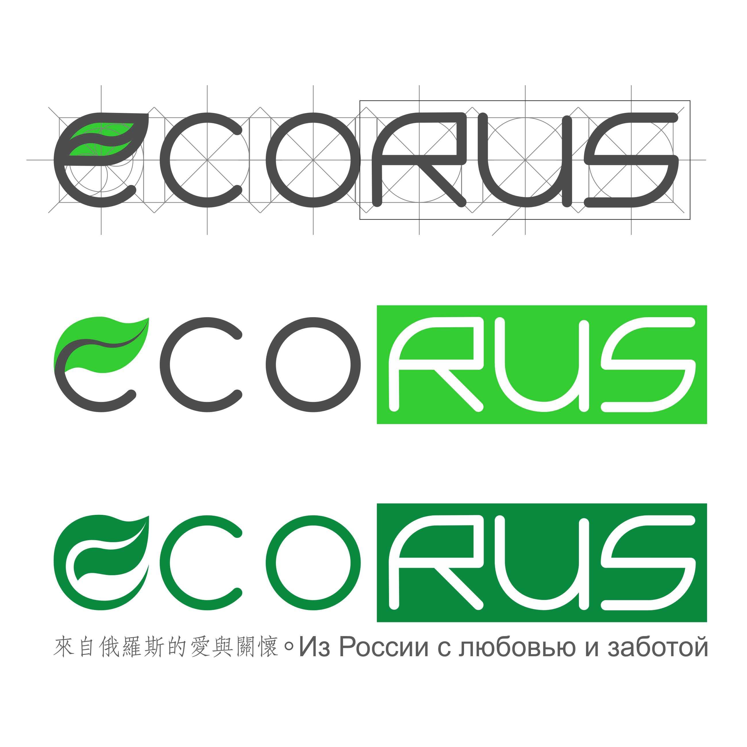 Логотип для поставщика продуктов питания из России в Китай фото f_9035ea966188cc38.jpg