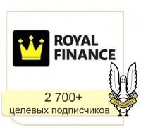 VK, FB - Royal Finance: продвижение услуг компании в социальных сетях