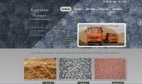 Сайт компании (Песок, Щебень Керамзит)