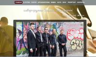 Переключаемый редизайн сайта музыкальной группы