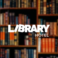Логотип отеля «Library»