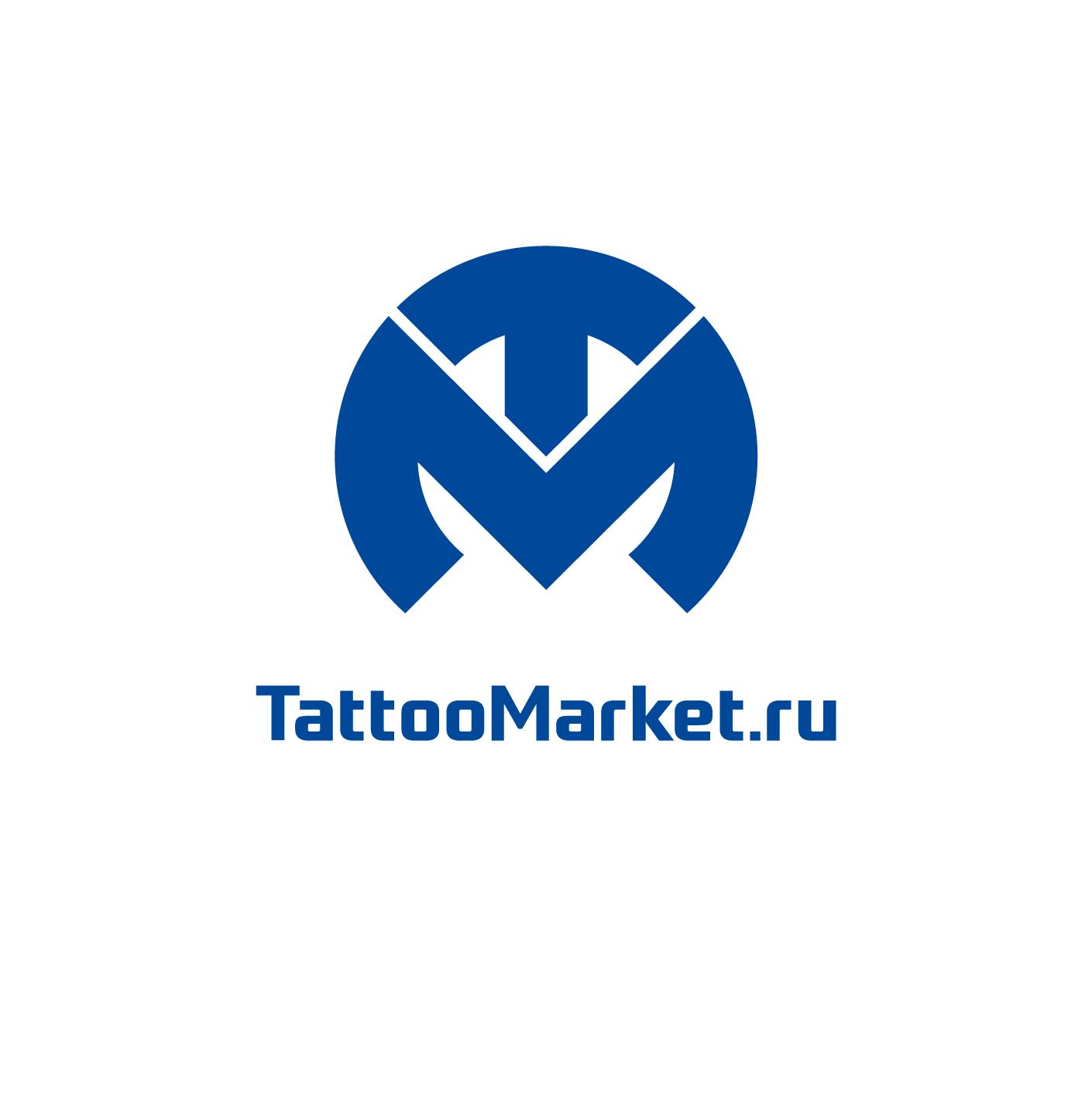 Редизайн логотипа магазина тату оборудования TattooMarket.ru фото f_4005c38e29b2b0cb.png