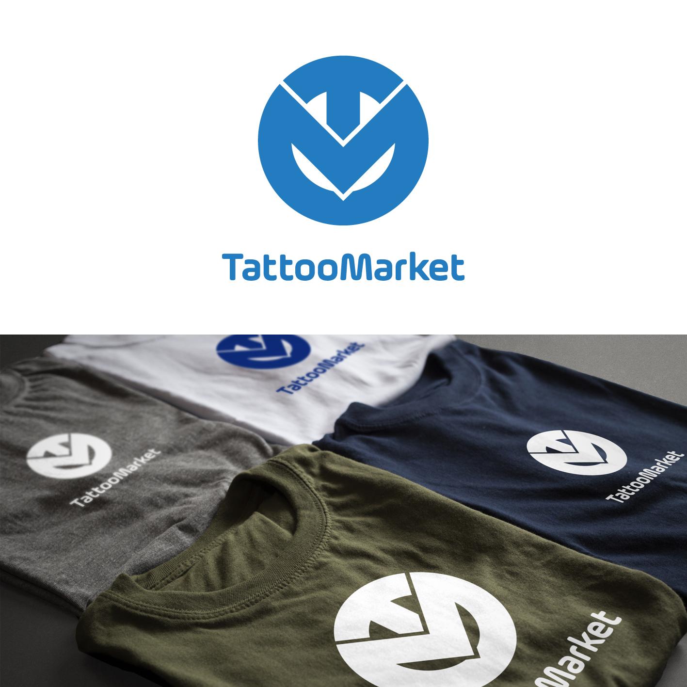 Редизайн логотипа магазина тату оборудования TattooMarket.ru фото f_6125c3c5b9a1b05e.png